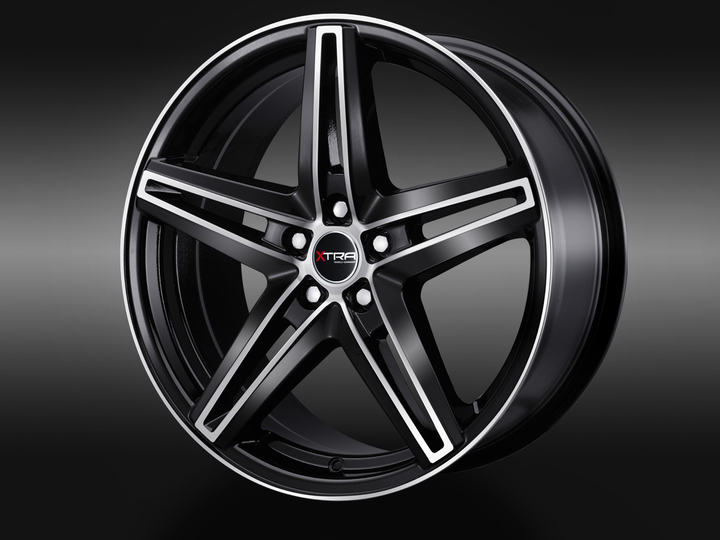 XTRA Wheels SW4 schwarz voll poliert © GT-Automotive GmbH & Co. KG