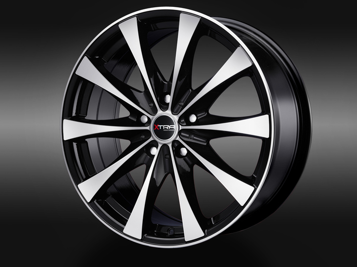 XTRA Wheels SW4i schwarz voll poliert © GT-Automotive GmbH & Co. KG