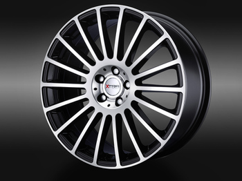 XTRA Wheels SW3 schwarz voll poliert © GT-Automotive GmbH & Co. KG