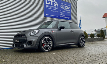 John Cooper Works JCW Mini Tieferlegung Sportfedern 28813-1 © GT-Automotive GmbH & Co. KG