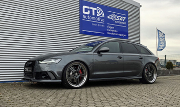 Audi RS6 4G Performance Tieferlegung Sportfedern 28828-1 Cargraphic GT 22 Zoll Kombination © GT-Automotive GmbH & Co. KG