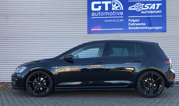 VW Golf 7 Tieferlegung H&R Sportfedern 28843-2 © GT-Automotive GmbH & Co. KG