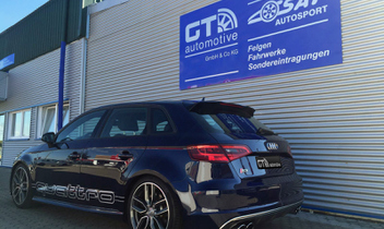 audi-s3-8v-tiefer-gelegt © GT-Automotive GmbH & Co. KG