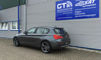 bmw 1er 5 t rer typ f20 galerie by gt automotive gmbh co kg. Black Bedroom Furniture Sets. Home Design Ideas