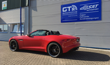 cargraphic-gt-car-alufelgen-jaguar-cabrio-f-type- © GT-Automotive GmbH & Co. KG