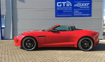 cargraphic-gt-car-felgen-jaguar-cabrio-f-type- © GT-Automotive GmbH & Co. KG