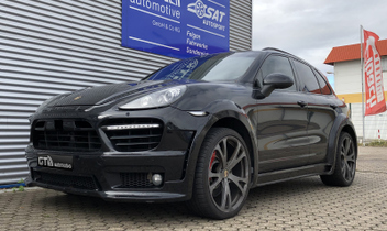 porsche-cayenne-techart-formular-3-22-zoll-alufelgen-prior-body-kit © GT-Automotive GmbH & Co. KG
