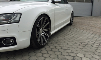 vossen-cv4-silver-mirror-polished-audi-s5 © GT-Automotive GmbH & Co. KG