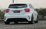 Mercedes A Klasse mit Vossen CV3 19 Zoll © GT-Automotive GmbH & Co. KG