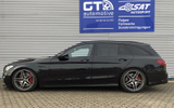 Mercedes C-Klasse W205 T-Modell C63S H&R Monotube Gewindefahrwerk © GT-Automotive GmbH & Co. KG