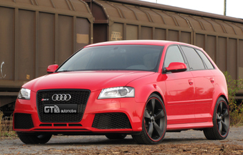 SAT21 LS21 Nero Red-Line Audi A3 Sportback H&R Fahrwerk © GT-Automotive GmbH & Co. KG