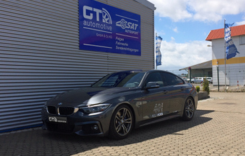 bmw-4er-grand-coupe-hundr-gewindefahrwerk © GT-Automotive GmbH & Co. KG