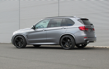 BMW F15 GMP Buran S-Black 9.5J x 11.0J x 22 Zoll © GT-Automotive GmbH & Co. KG