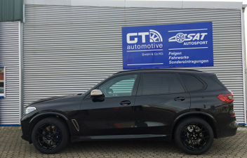 bmw-x5-xm50d-20-zoll-winterraeder-sat20 © GT-Automotive GmbH & Co. KG