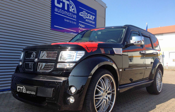 dodge-nitro-22-zoll-felgen © GT-Automotive GmbH & Co. KG