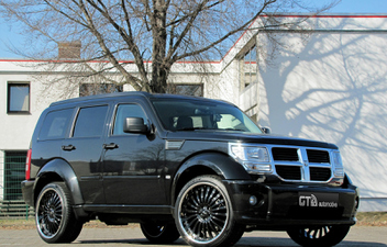 dodge nitro felgen alufelgen sommerraeder © GT-Automotive GmbH & Co. KG