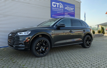 Audi Q5 FY 20 Zoll GMP Gunner Winter Kompletträder © GT-Automotive GmbH & Co. KG