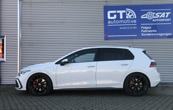 VW Golf 8 GTE Tieferlegung H&R Sportfedern 28639-6 © GT-Automotive GmbH & Co. KG