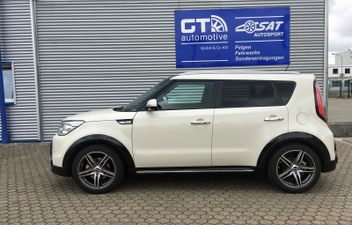 kia-soul-18-zoll-borbet-xrt-felgen © GT-Automotive GmbH & Co. KG
