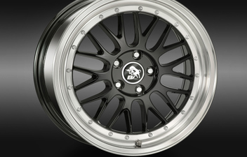 Ultra Wheels UA3 Black Lip Polished © GT-Automotive GmbH & Co. KG