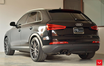 vossen-cvt-gun-metal-gloss-audi-q3 © GT-Automotive GmbH & Co. KG