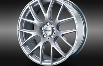 XTRA Wheels SW5 silver © GT-Automotive GmbH & Co. KG