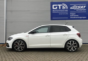 VW Polo GTi H&R Sportfedern 28711-2 © GT-Automotive GmbH & Co. KG