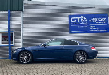BMW 6er Coupe E63 630i Tieferlegung H&R Federn 29221-1 © GT-Automotive GmbH & Co. KG
