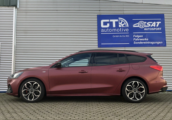 ford-focus-turnier-hr-trak-distanzscheiben-spurplatten-spurverbreiterung © GT-Automotive GmbH & Co. KG