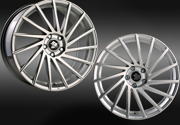 Ultra Wheels UA9 STORM Silver Links Rechts © GT-Automotive GmbH & Co. KG
