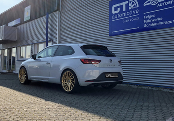 ultra-wheels-tornado-ua3-alufelgen-gold-seat-leon-cupra-280 © GT-Automotive GmbH & Co. KG