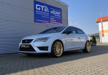 ultra-wheels-tornado-ua3-felgen-gold-seat-leon-cupra-280 © GT-Automotive GmbH & Co. KG