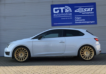 ultra-wheels-tornado-ua3-gold-seat-leon-cupra-280 © GT-Automotive GmbH & Co. KG