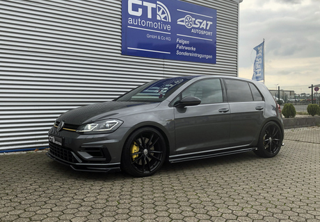 VW Golf 7 -R- Höhenverstellbares Federsystem Gewindefedern H&R 23017-6 © GT-Automotive GmbH & Co. KG