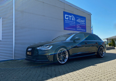 Audi A6 4G Avant 10.5Jx20 Oxigin MP1 275/30ZR20 97Y © GT-Automotive GmbH & Co. KG