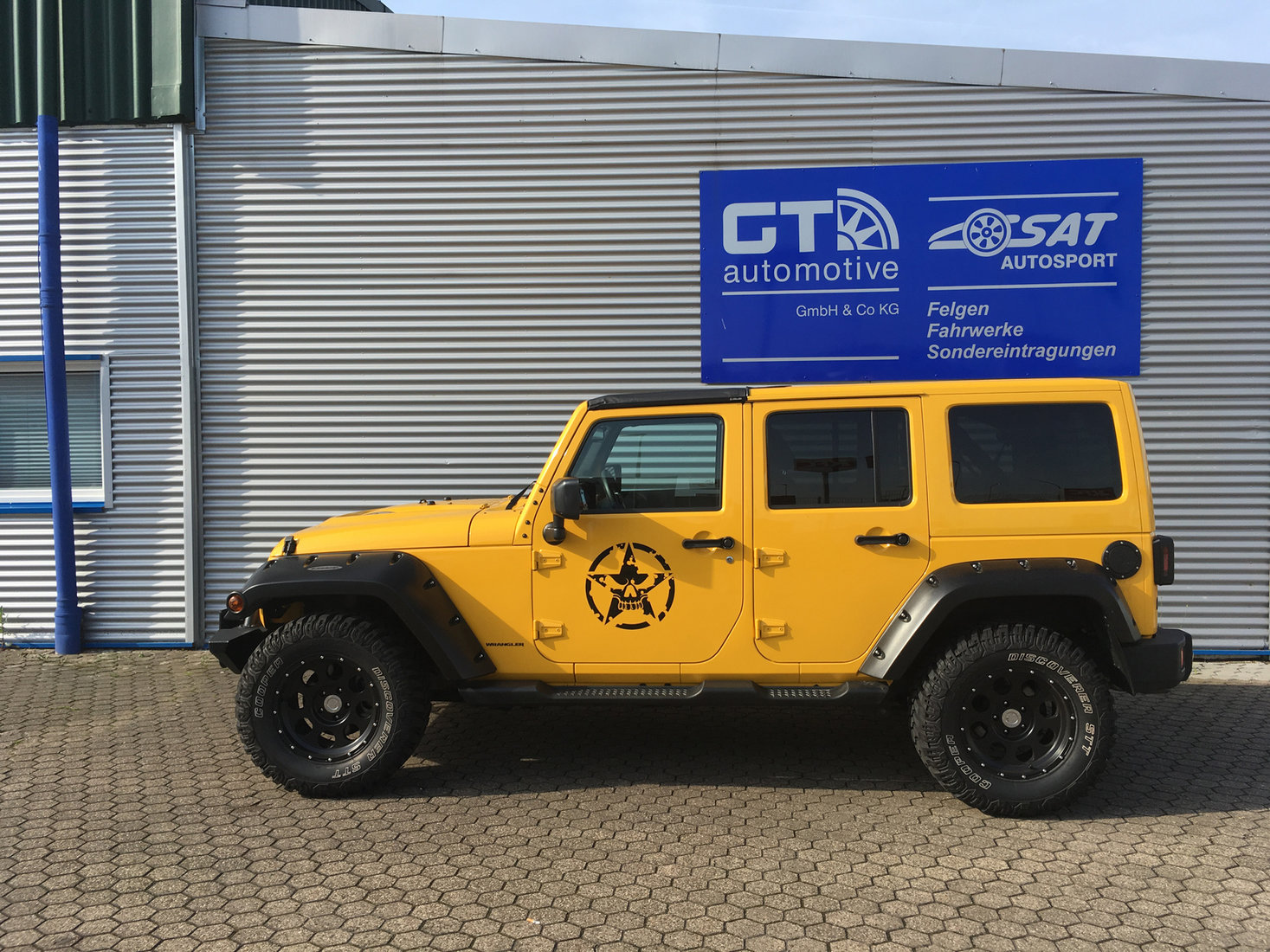 Jeep Wrangler Typ JK Galerie by GT-Automotive GmbH & Co  KG