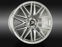 Ultra Wheels UA1 Silver © GT-Automotive GmbH & Co. KG