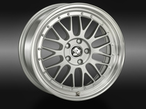 Ultra Wheels UA3 Silver Lip Polished © GT-Automotive GmbH & Co. KG