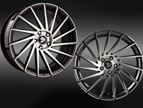 Ultra Wheels UA9 STORM Gunmetal Polished Links Rechts © GT-Automotive GmbH & Co. KG