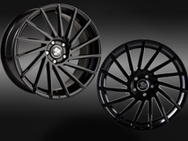 Ultra Wheels UA9 STORM Black Links Rechts © GT-Automotive GmbH & Co. KG