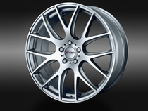 XTRA Wheels SW5 Gunmetal voll poliert © GT-Automotive GmbH & Co. KG