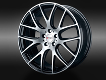 XTRA Wheels SW5 schwarz voll poliert © GT-Automotive GmbH & Co. KG